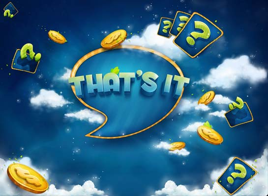 That's It mobile phone game for iPhone, iPad and Android