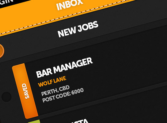Snappy Recruit iPhone app