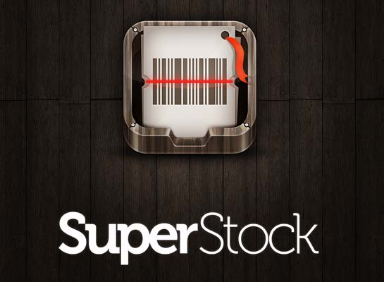 SuperStock mobile phone application for iPhone