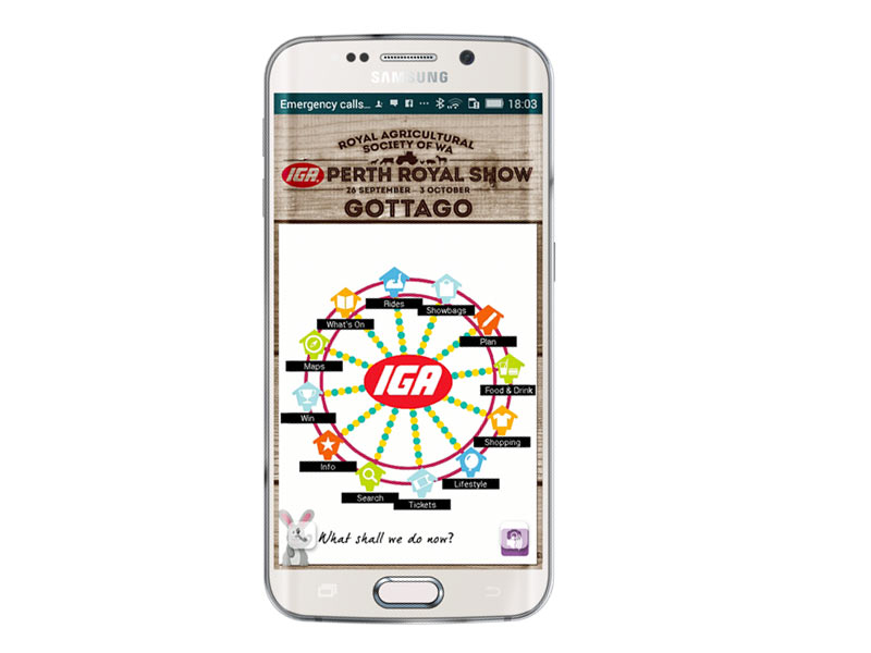 Perth Royal Show iPhone and Android app