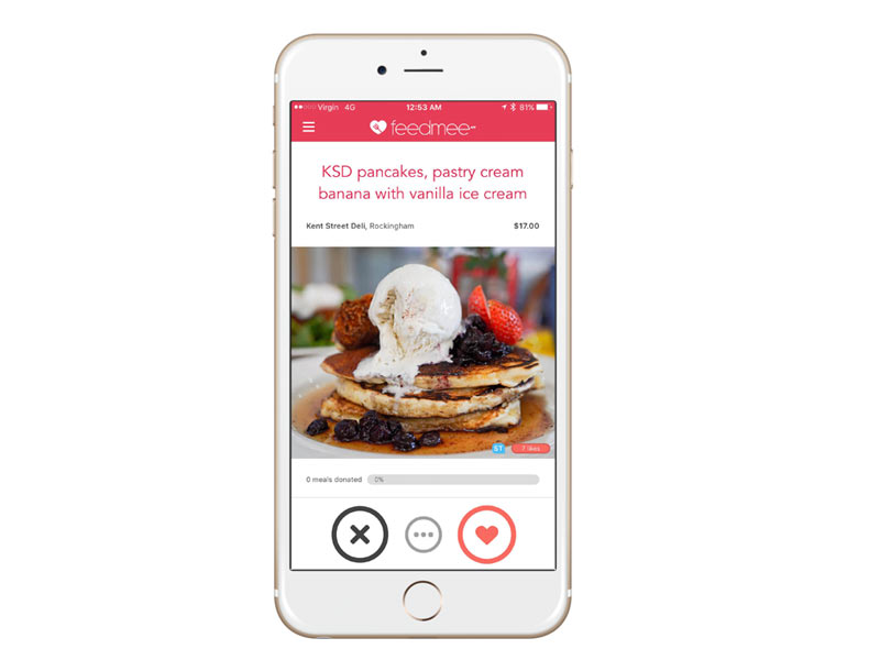 Feedmee app for iPhone