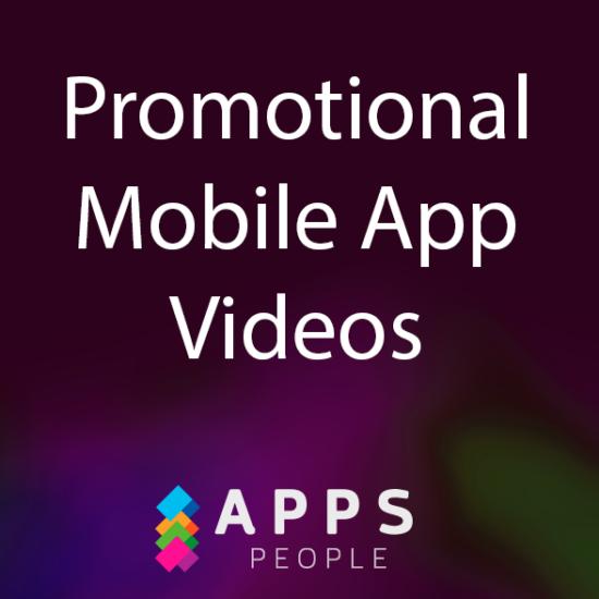 Promo mobile app videos