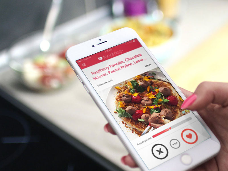 Feedmee app is a food discovery mobile app