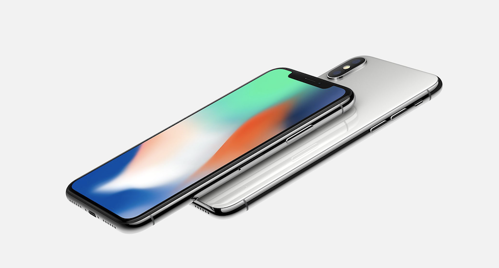 iPhone X accounted at todays keynote