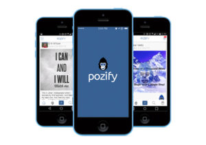 Pozify aims to promote the creation of positive content online.